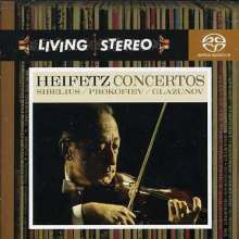 Alexander Glasunow (1865-1936): Violinkonzert op.82, SACD