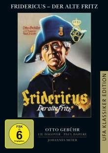 Fridericus - Der alte Fritz, DVD