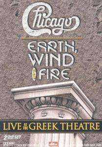Chicago / Earth, Wind & Fire: Live At The Greek Theatre, 2 DVDs