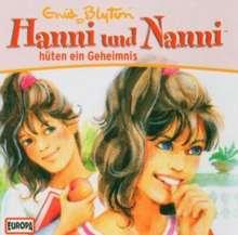 Enid Blyton: Hanni und Nanni 23. Hüten ein Geheimnis. CD, CD