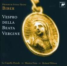 Heinrich Ignaz Biber (1644-1704): Vespro della Beata Vergine (Geistliche Chormusik), CD