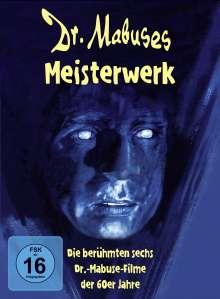 Dr. Mabuses Meisterwerk (6 Mabuse-Filme), 6 DVDs