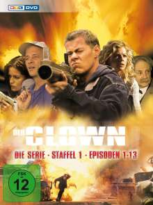 Der Clown - Die Serie Staffel 1, 3 DVDs