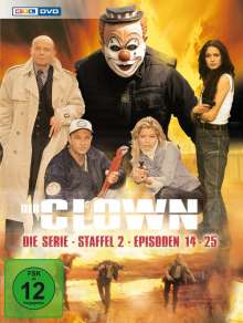 Der Clown - Die Serie Staffel 2, 3 DVDs