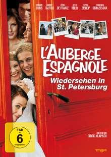 L'Auberge Espagnole - Wiedersehen in St.Petersburg, DVD