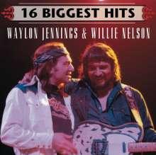 Willie Nelson & Waylon Jennings: 16 Biggest Hits, CD
