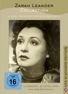 Zarah Leander Collection, 3 DVDs