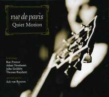 Rue De Paris: Quiet Motion, CD