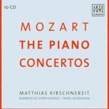 Wolfgang Amadeus Mozart (1756-1791): Sämtliche Klavierkonzerte, 10 CDs