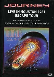 Journey: Live In Houston 1981, DVD