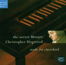 "Wolfgang Amadeus Mozart (1756-1791): Klavierstücke - ""The Secret Mozart"", CD"