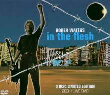 Roger Waters: In The Flesh: Live (Limited Edition), 2 CDs und 1 DVD