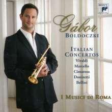 Gabor Boldoczki spielt italienische Trompetenkonzerte, CD