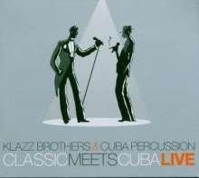 Klazz Brothers & Cuba Percussion - Live, 2 CDs