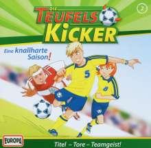 Die Teufelskicker (Folge 02) - Eine knallharte Saison!, CD