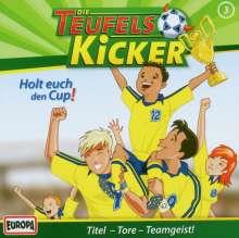 Die Teufelskicker (Folge 03) - Holt euch den Cup!, CD