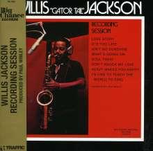 Willis Jackson (1928-1987): Recording Session, CD