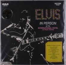 Elvis Presley (1935-1977): Elvis In Person At The International Hotel Las Vegas, Nevada (180g), LP