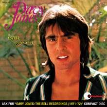 "Davy Jones (New Age): Girl/Rainy Jane (Limited-Edition) (Colored Vinyl), Single 7"""