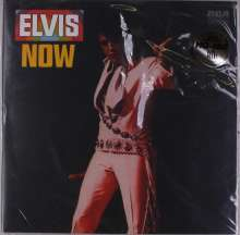 Elvis Presley (1935-1977): Elvis Now (180g) (Limited-Anniversary-Edition) (Translucent Gold & Red Vinyl), LP