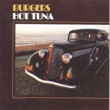 Hot Tuna: Burgers (180g) (Limited Anniversary Edition) (Blue Vinyl), LP