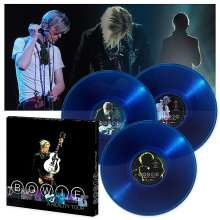 David Bowie: A Reality Tour (180g) (Limited Edition Box Set) (Translucent Blue Vinyl), 3 LPs