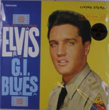 Elvis Presley (1935-1977): G.I. Blues (180g) (Limited-Edition) (Yellow Vinyl), LP