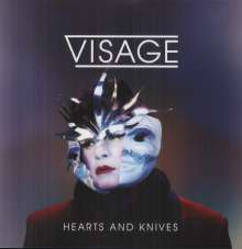 Visage: Hearts And Knives (Limited Edition) (White Vinyl), LP
