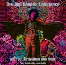 Jimi Hendrix: Are You Experienced And More, 2 CDs