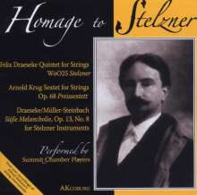 Felix Draeseke (1835-1913): Streichquintett A-Dur, CD
