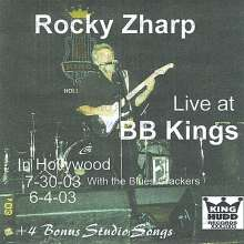 Rocky Zharp: Live At B.B. Kings Hollywood, CD