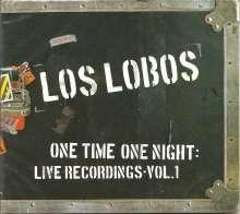 Los Lobos: One Time One Night: Live Rec., CD