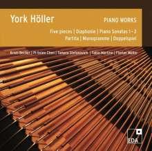 York Höller (geb. 1944): Klavierwerke, 2 CDs
