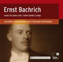 Ernst Bachrich (1892-1942): Violinsonate op.2, CD