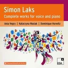 Simon Laks (1901-1983): Sämtliche Lieder & Melodramen, 2 CDs