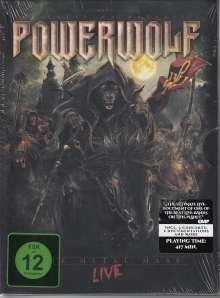 Powerwolf: The Metal Mass: Live 2015 (Mediabook) (2 DVD + CD), 2 DVDs und 1 CD