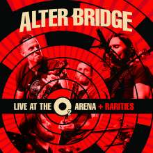 Alter Bridge: Live At The O2 Arena + Rarities (Limited-Edition-Box-Set), 4 LPs