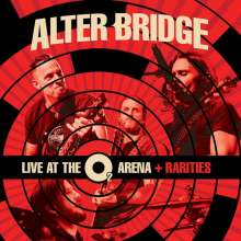 Alter Bridge: Live At The O2 Arena + Rarities (Limited-Edition-Box-Set) (White Vinyl), 4 LPs
