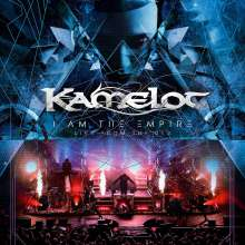 Kamelot: I Am The Empire - Live From The 013, 1 CD, 1 DVD und 1 Blu-ray Disc