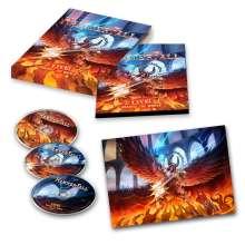 HammerFall: Live! Against The World, 2 CDs und 1 Blu-ray Disc