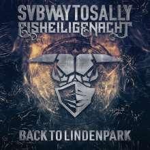 Subway To Sally: Eisheilige Nacht: Back To Lindenpark (Mediabook), 2 CDs, 1 Blu-ray Disc und 1 DVD