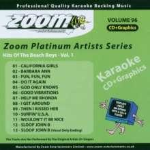Karaoke & Playback: Hits Of The Beach Boys Vol. 1, CD