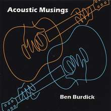Ben Burdick: Acoustic Musings, CD
