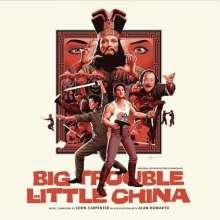 John Carpenter: Filmmusik: Big Trouble In Little China (O.S.T.), 2 LPs