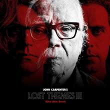 John Carpenter: Filmmusik: Lost Themes III: Alive After Death (Limited Edition) (Red Vinyl), LP