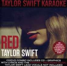 Karaoke & Playback: Taylor Swift: Red Karaoke (CD + DVD), 1 CD und 1 DVD