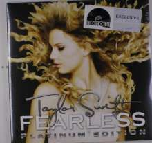 Taylor Swift: Fearless (Platinum-Edition) (Crystal Clear & Metallic Gold Vinyl), 2 LPs