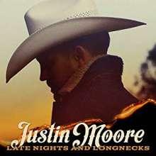Justin Moore: Late Nights And Longnecks, CD