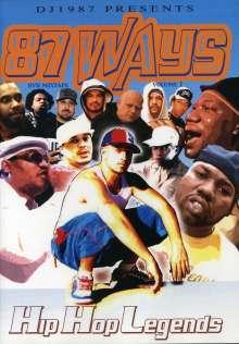 Dj 1987: 87 Ways Dvd Mixtape 1: Hip Hop, DVD