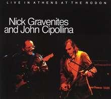 John Cipollina / Nick Gravenites Band: Live In Athens, CD